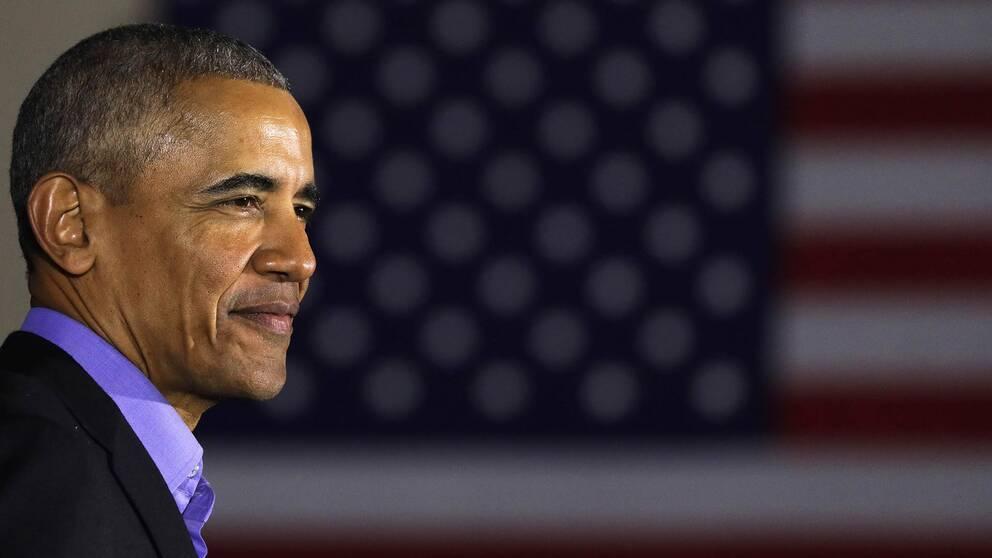USA:s förre president Barack Obama.