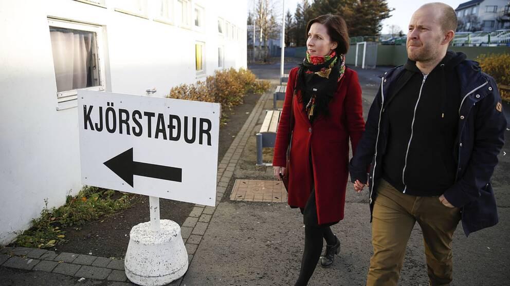 Många islänningar är trötta på att gå och rösta. På lördagen gick de till val för tredje gången på fyra år.