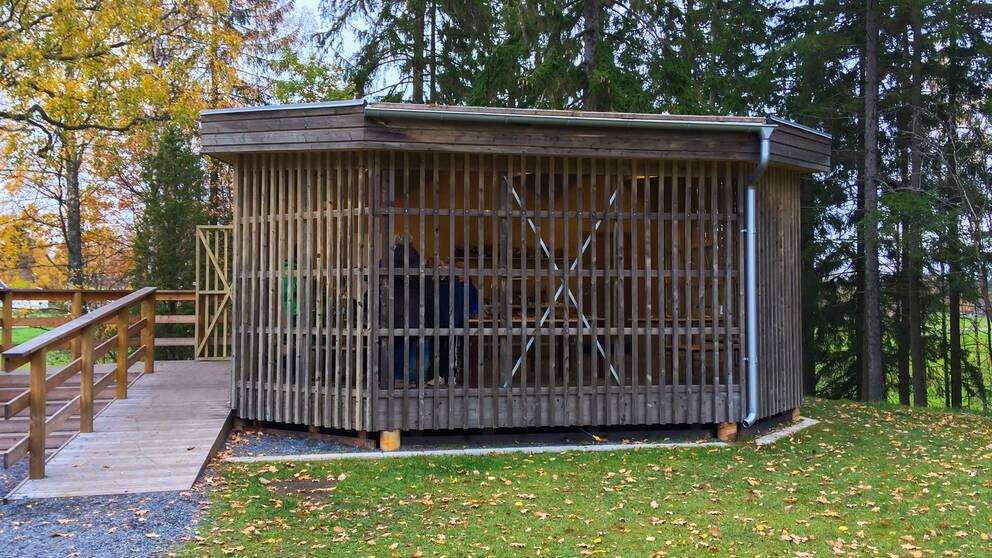 Uteklassrum i Ölmstad utanför Jönköping