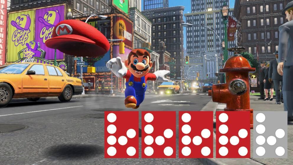 I Super Mario Odyssey besöker den italienske rörmokaren bland annat New York. Eller New Donk City, som det kallas i spelet.
