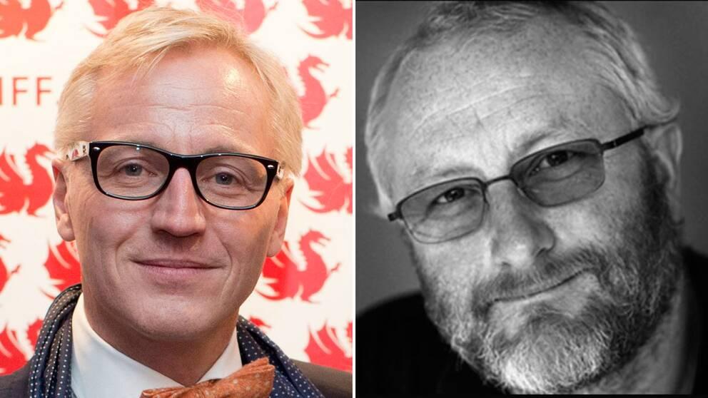 Film i västs vd Mikael Fellenius och Zentropa producenten Peter Aalbæk Jensen.