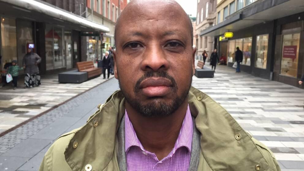 Abshir Osman, moderat politiker Eskilstuna