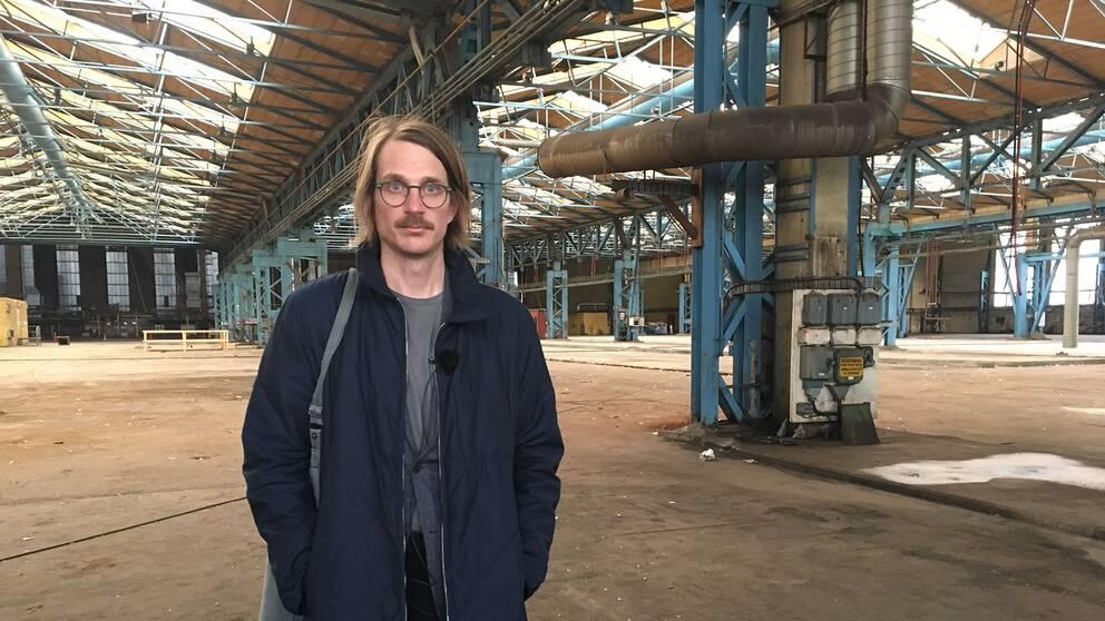 Regissören Nils-Petter Löfstedt.
