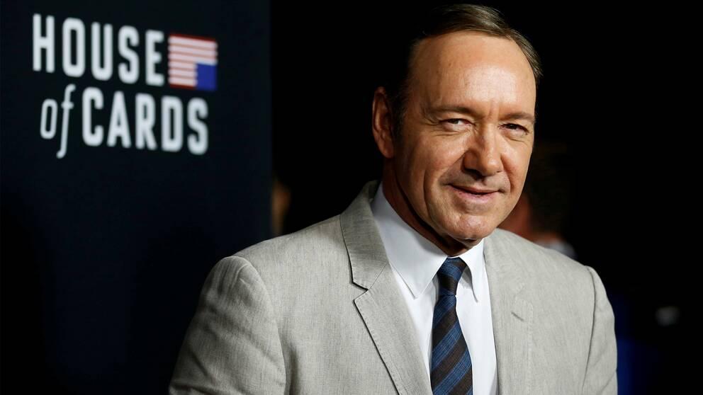 """Kevin Spacey spelar huvudrollen som USA:s president i den kritikerrosade tv-serien """"House of Cards""""."""