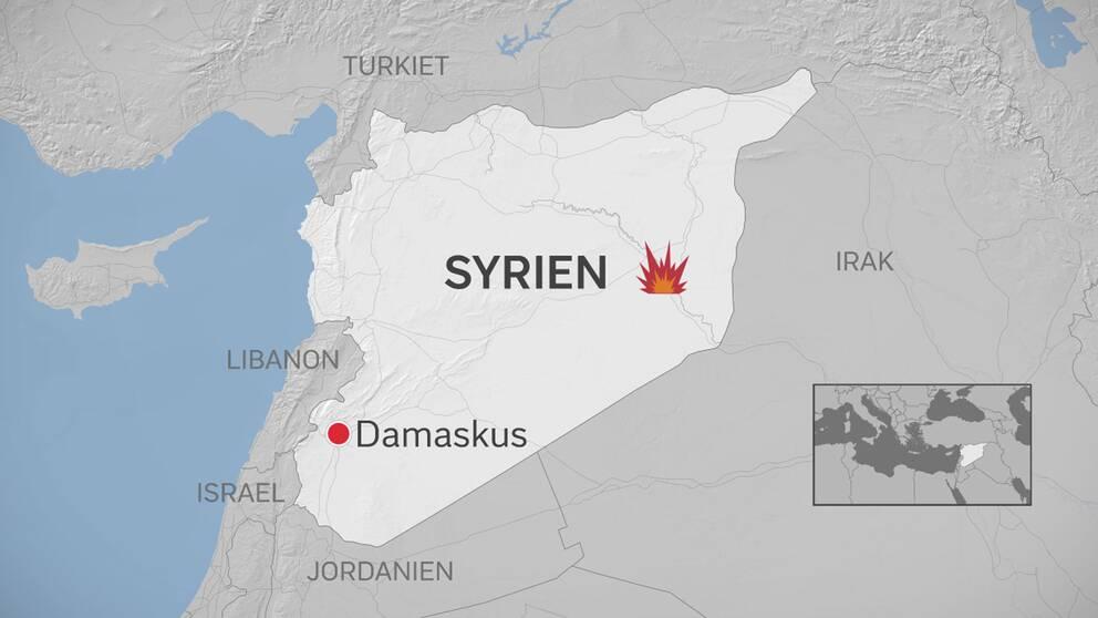 Många flyktingar ska ha dödats av en bilbomb som Islamiska staten (IS) utlöst i östra Syrien, enligt Syriska människoröttsobservatoriet (SOHR).