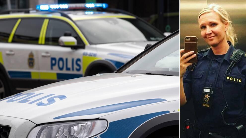 Åsa Wulff, polis och huvudskyddsombud, polisområde Nordvästra Skåne.