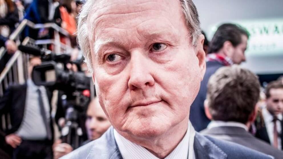 Svenskt Näringslivs ordförande Leif Östling
