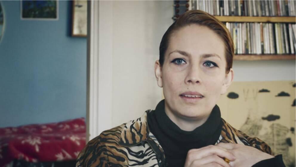 "Bild ur dokumentären ""En film om Jenny Wilson"". Foto: SVT"