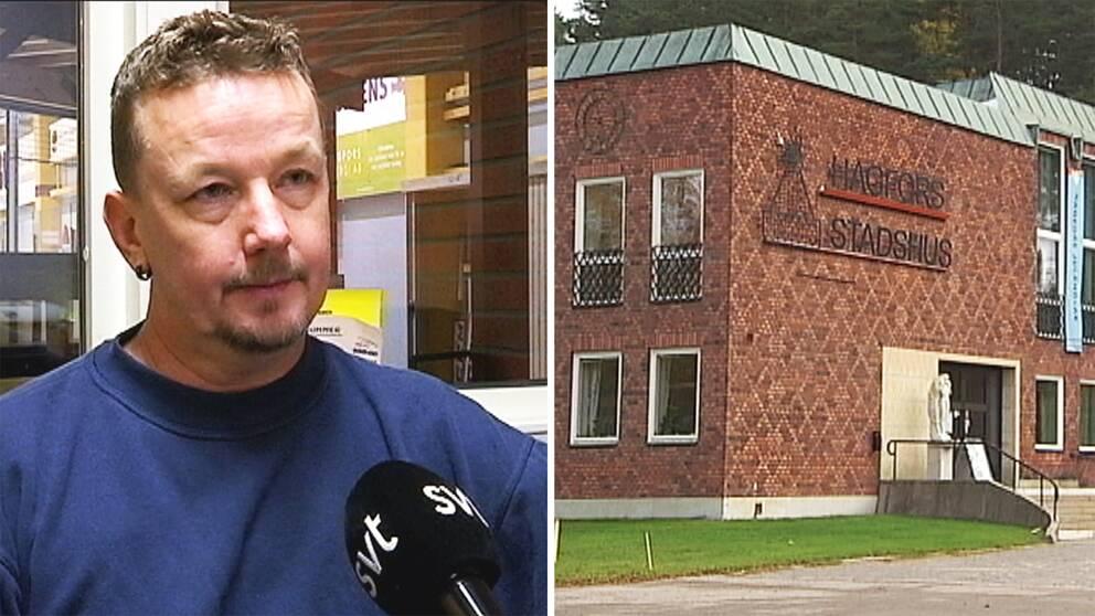 Tomas Pettersson är politiskt oerfaren men väl medveten om att uppdraget som kommunalråd är utsatt