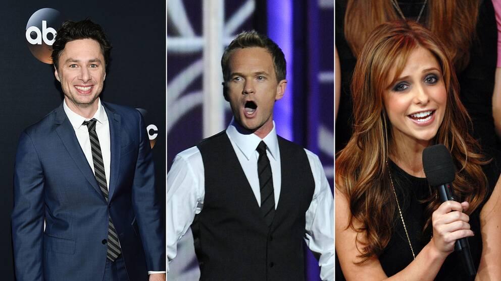 Zach Braff, Neil Patrick Harris och Sarah Michelle Gellar har alla medverkat i minnesvärda musikalnummer.