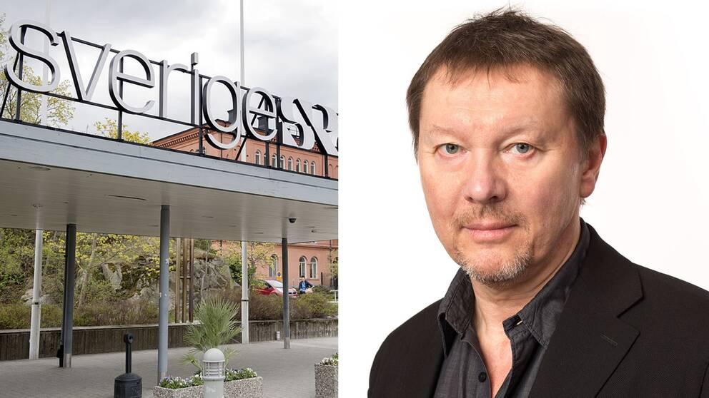 Björn Löfdahl, programdirektör på Sveriges Radio