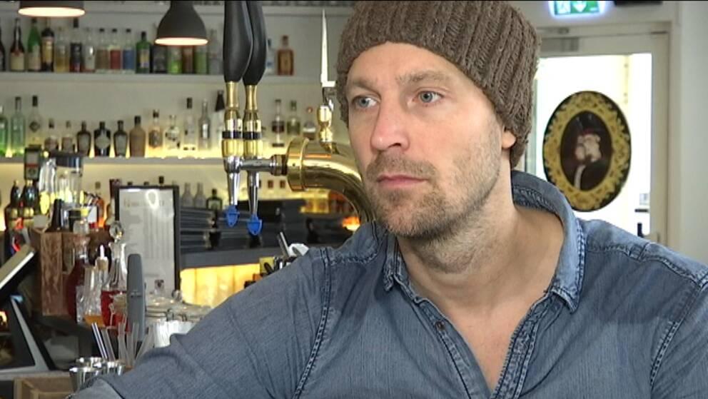 Många, både anställda och andra ängelholmare, är fortfarande oroliga, säger ägaren Jim Nilsson.