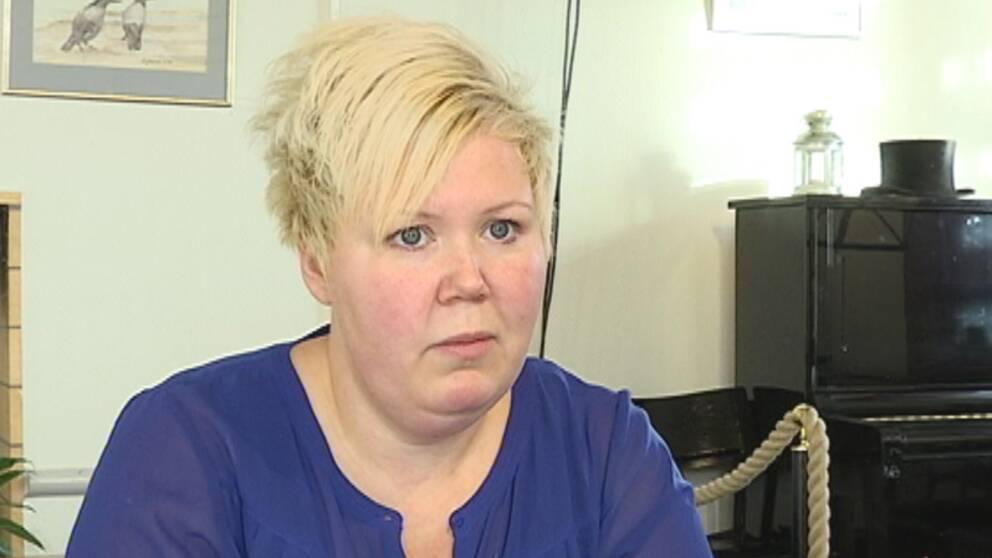 Bodil Christenssen jobbar på förlossningen i Växjö, där flera barnmorskor har sagt upp sig.