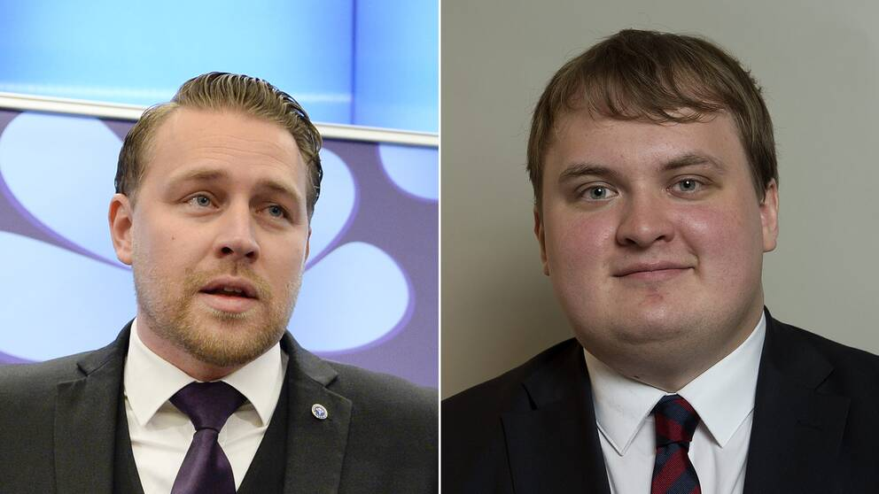 Mattias Karlsson (SD) och Pavel Gamov (SD).