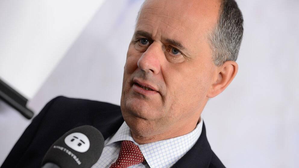 Finansmarknadsminister Peter Norman.