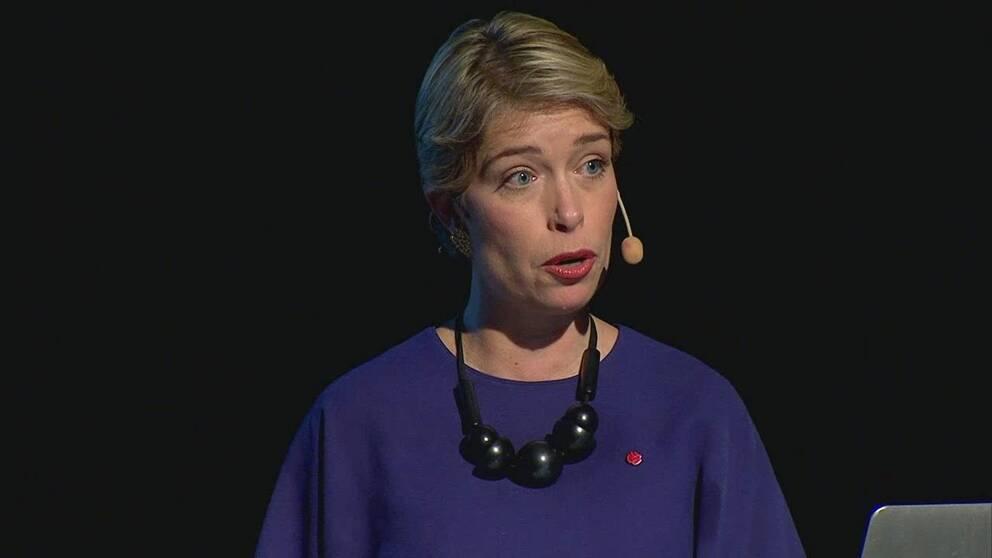 Socialminister Annika Strandhäll (S)