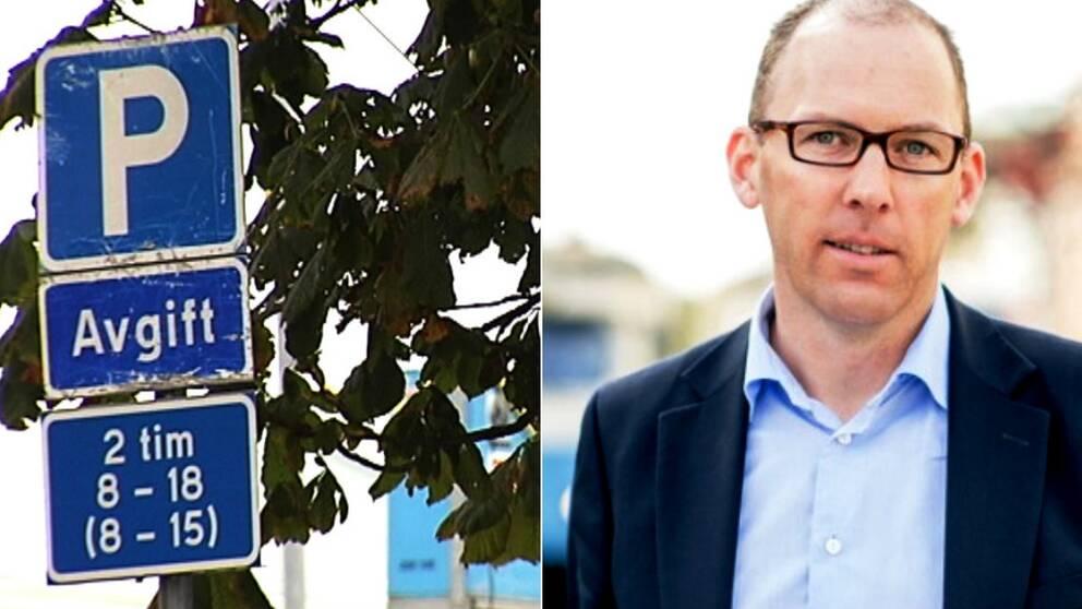 Henrik Munck, (MP), vill göra det dyrare att parkera i Göteborg.