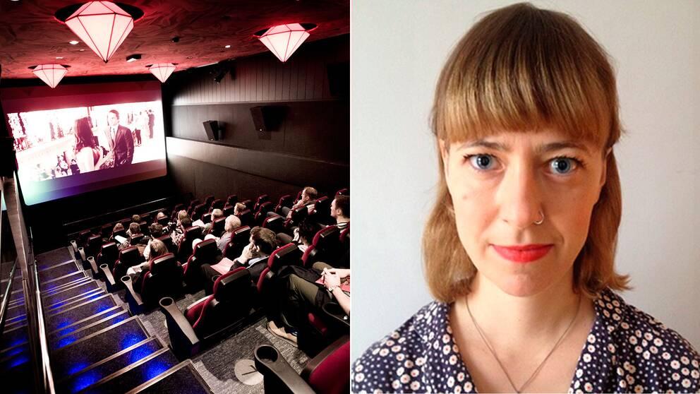 Manusförfattaren Ida Kjellin ser en problematik i hur våldtäktsscener används som en billig chockeffekt i filmvärlden.