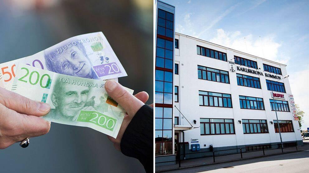 Moderatledaren Camilla Brunsberg kräver nu att de felaktiga kommunala lönerna betalas tillbaka till Karlskrona kommun.