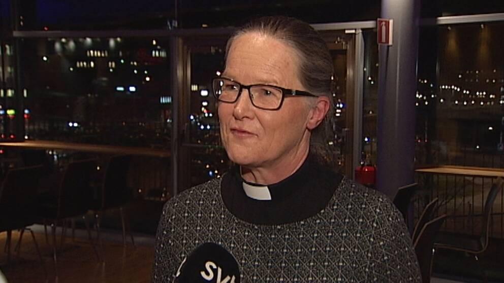Åsa Nyström, nyvald biskop i Luleå stift