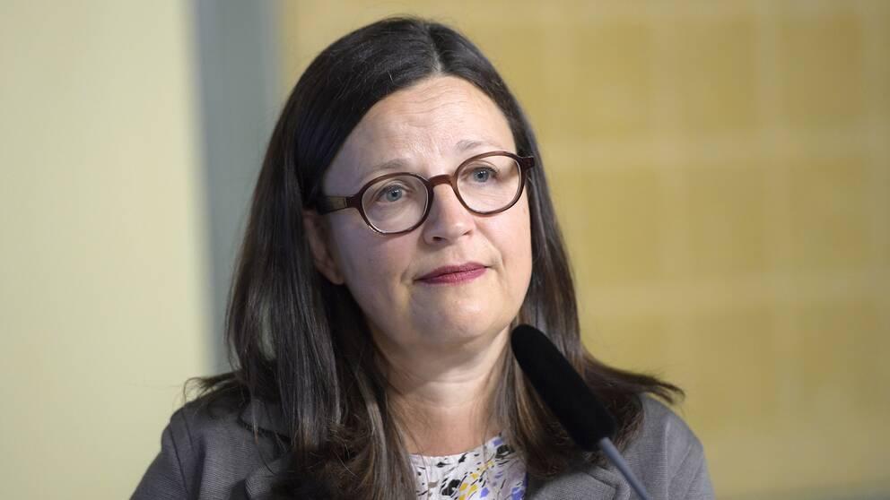 Anna Ekström (S).