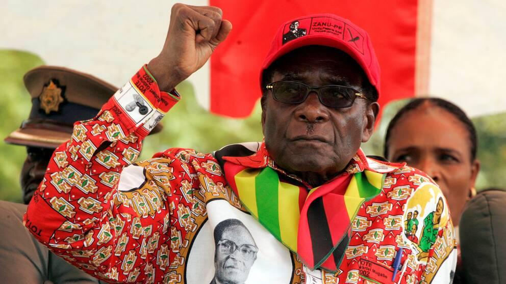 Pågår en maktkamp om vem som ska efterträda den 93-årige Robert Mugabe.