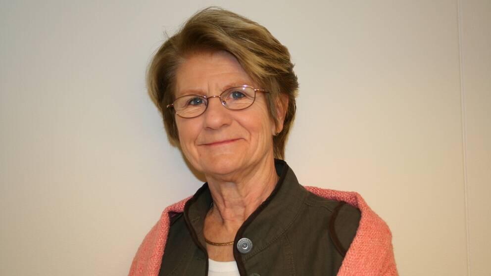 Statsvetaren Maud Eduards.