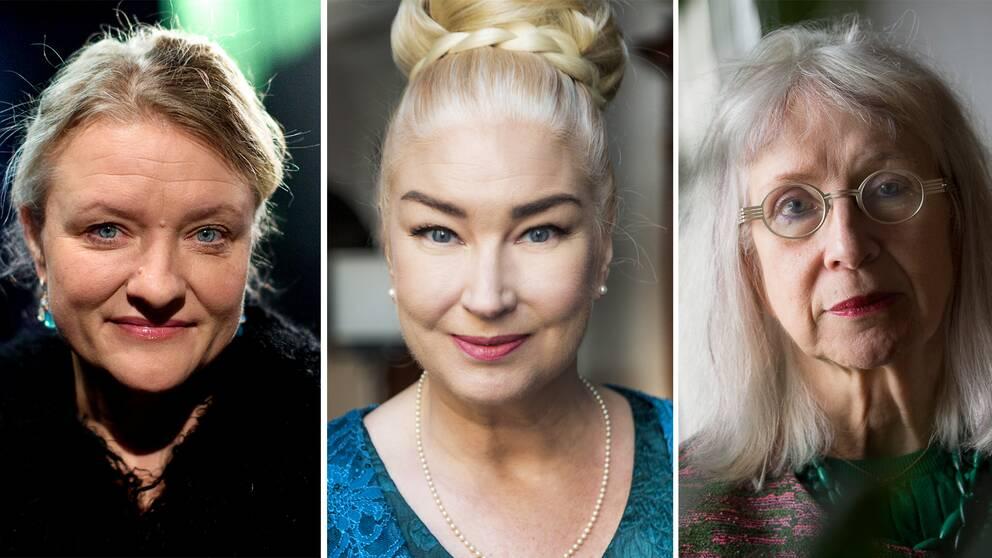 Anna Takanen, Eva Beckman och Suzanne Osten