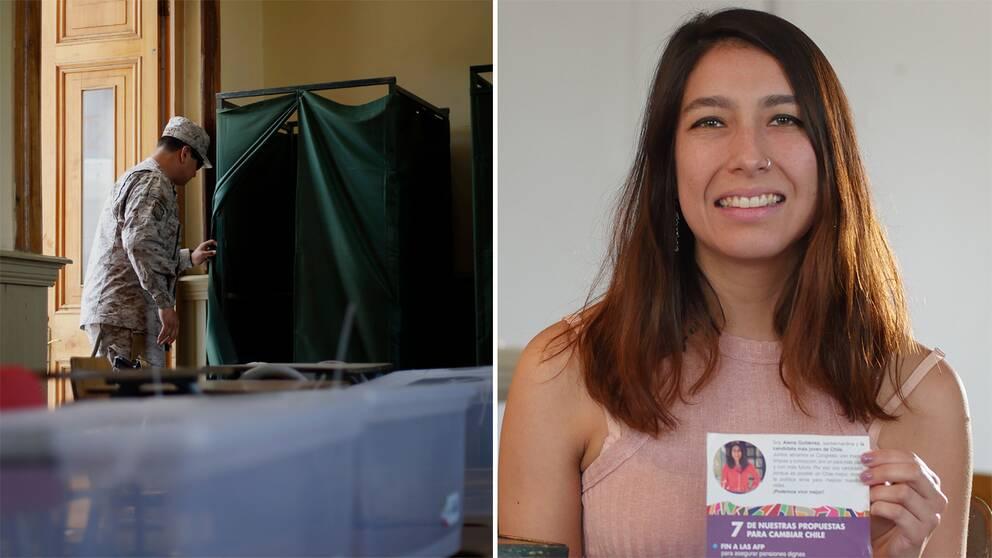 Alena Gutiérrez kandiderar till kongressen inför valet på söndagen.