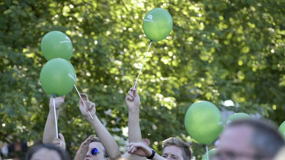 Bild från Almedalen.