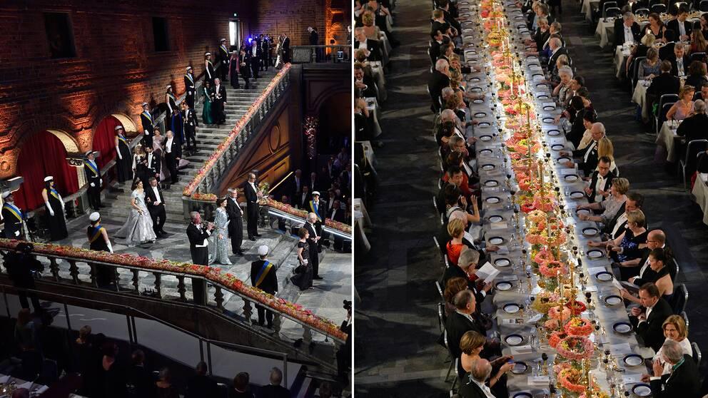 Nobelfesten i Blå Hallen är en av den svenska offentlighetens mest ansedda traditioner.
