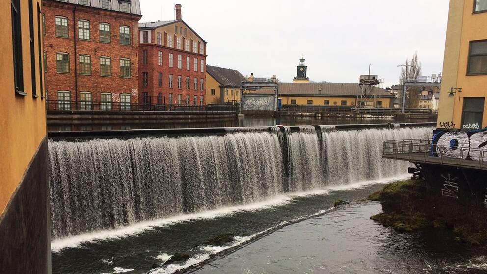 vattenfallaet industrilandskapet Norrköping