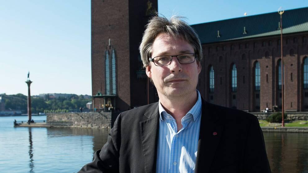Före detta stadsbyggnads- och kulturborgarrådet Roger Mogert.