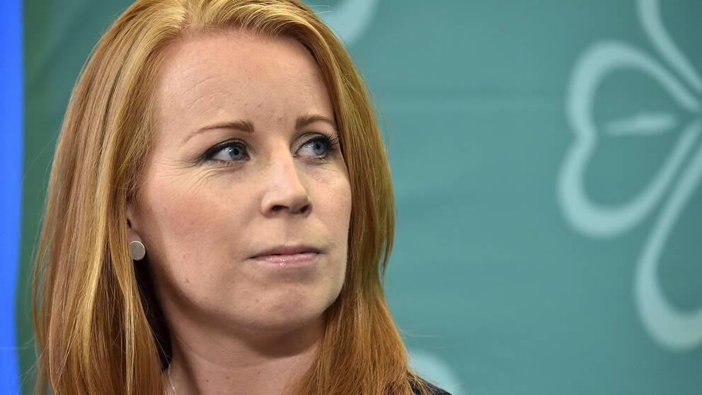 Centerns partiledare Annie Lööf.