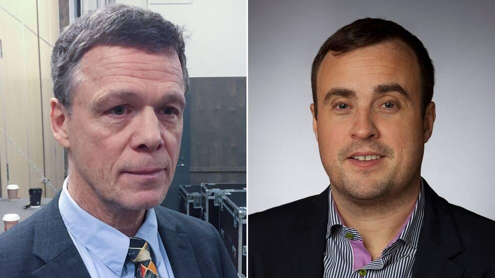 Martin Strid (SD) och Magnus Olsson (SD).