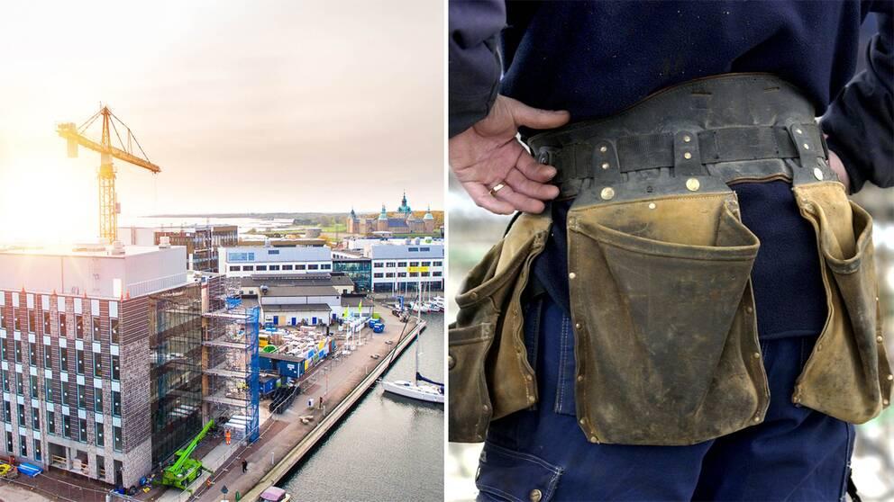 Vid Skanskas bygge av Linnéuniversitetet i Kalmar sparkades anställda av underentreprenörer efter anmälan om sextrakasserier.