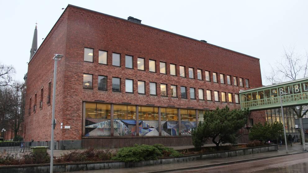 Västerås stadsbibliotek.