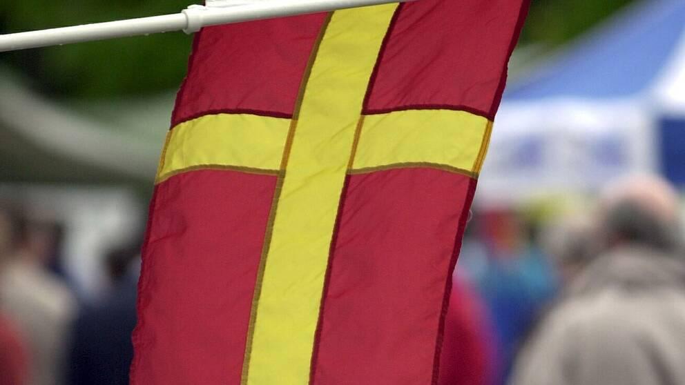 Nu Far Skanska Flaggan Anvandas Officiellt Svt Nyheter