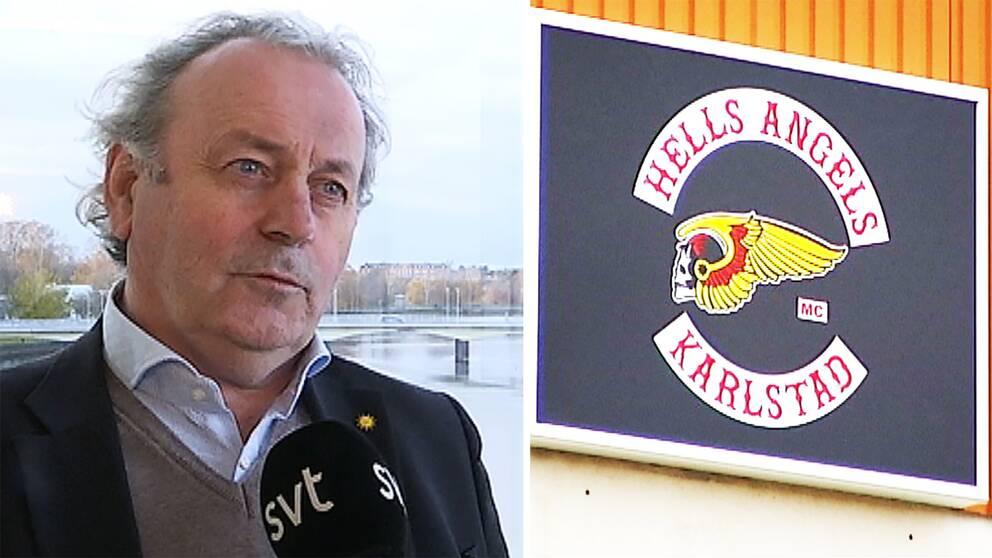 För kommunalrådet Per-Samuel Nisser (M) är namnet Hells Angels inte obekant