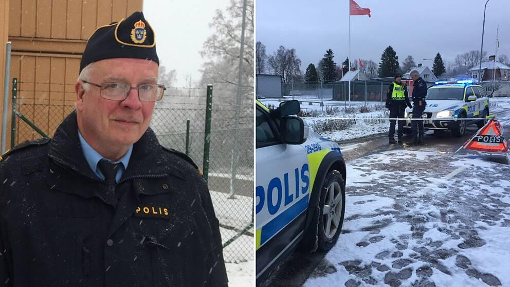 Polisens presstalesman Stefan Wickberg.
