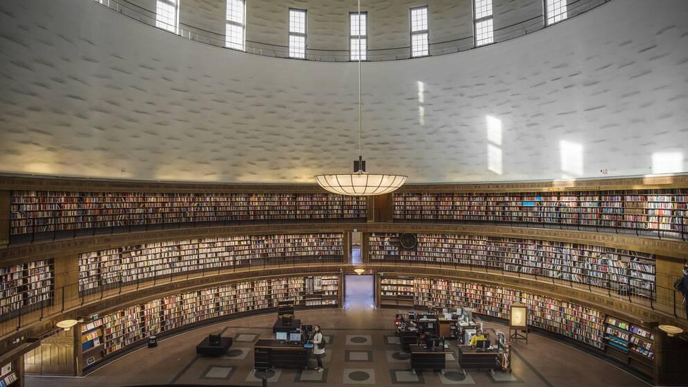 Stadsbiblioteket i Stockholm.