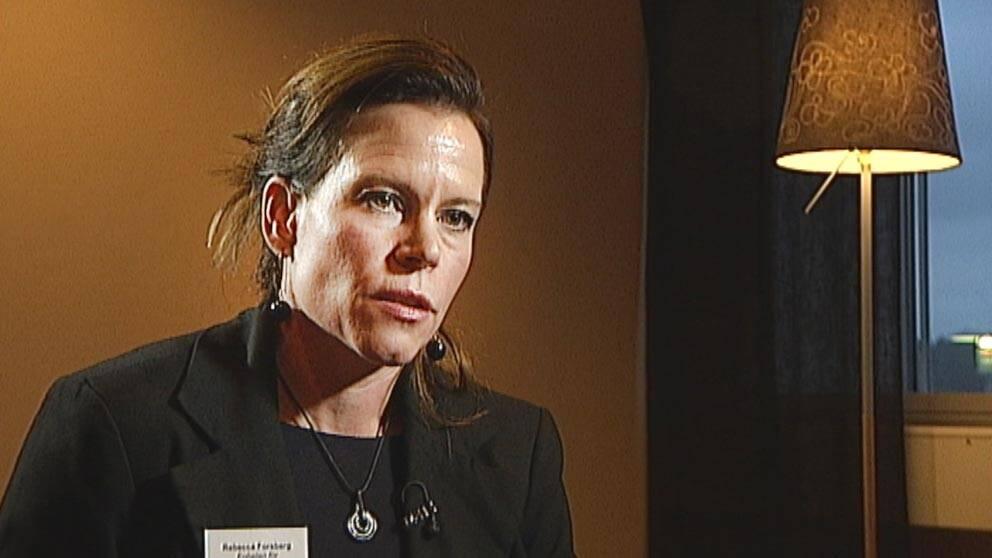 Rebecca Forsberg, trafikforskare Umeå universitet