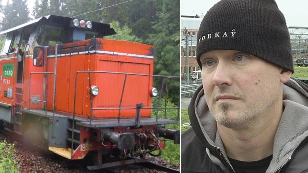 Med gasol i lasten spårade tåget som Per Johansson körde ur.