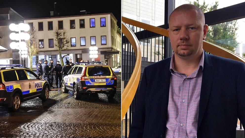 – Polis och allmänhet måste samverka bättre, säger Roger Fredriksson (M).