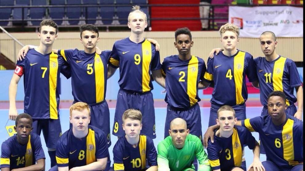 Sverige vann silver i U18 Futsal-VM