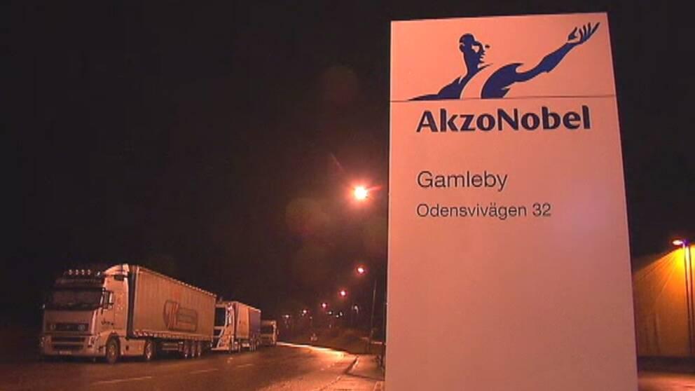 Akzo nobel lagger ner i gamleby