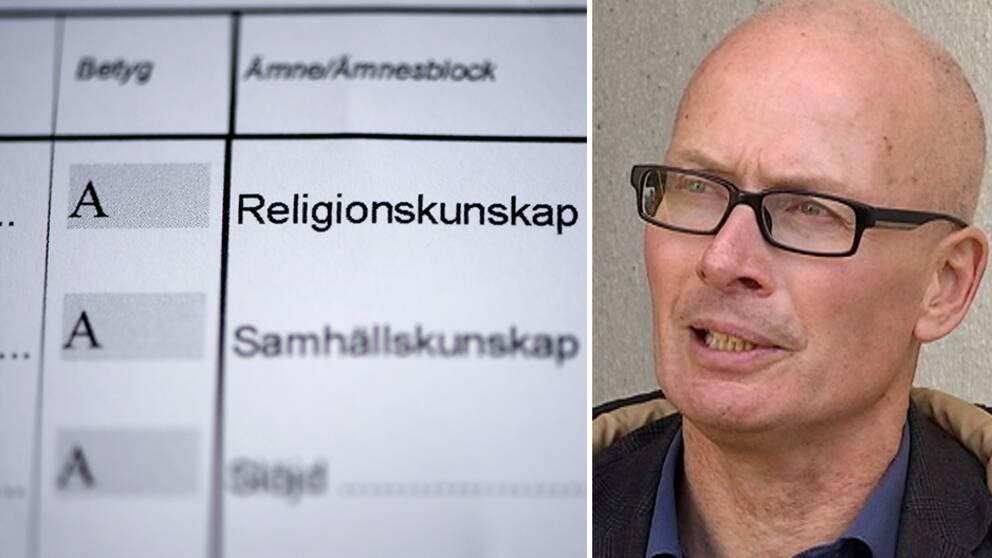 Hans Hultén är biträdande kommunombud för Lärarnas riksförbund i Falkenberg.