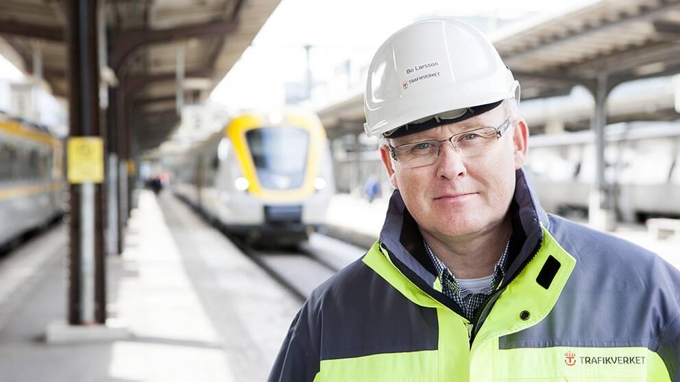 Bo Larsson är Trafikverkets projektchef för Västlänken.