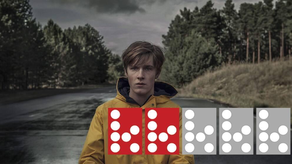 Louis Hofmann som den sanningssökande Jonas Kahnwald i Netflix första tyska originalserie.