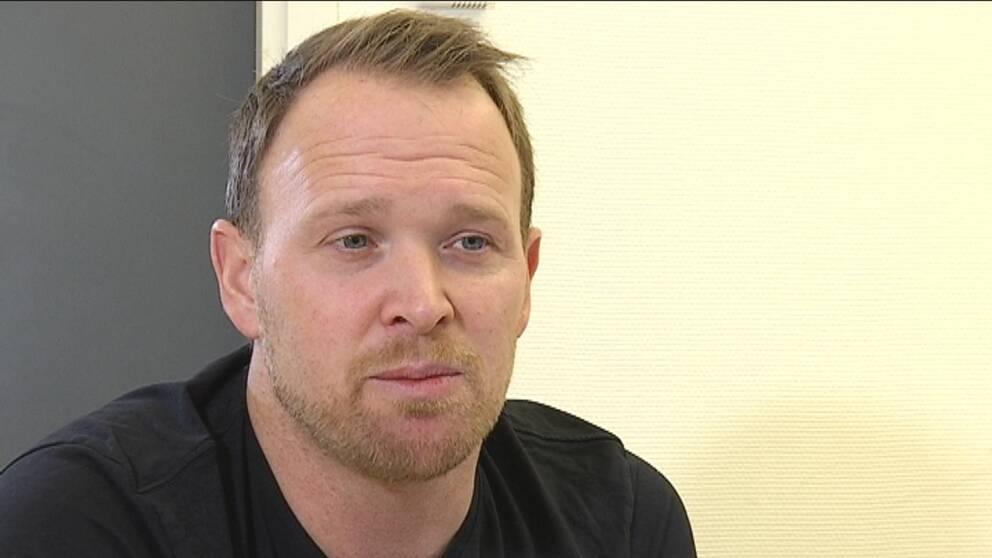 Daniel Fernström.